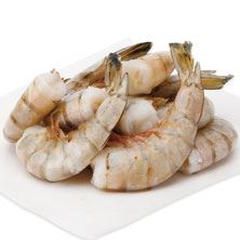 White Shrimp, Extra Large, 21-25 Shrimp/Lb Fresh, Wild