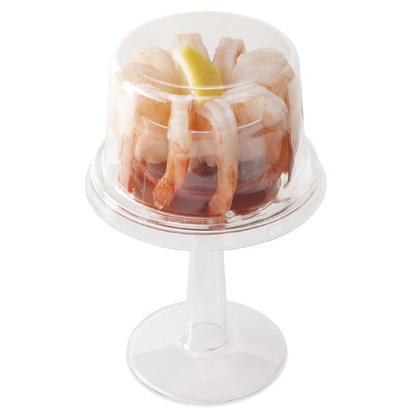 Shrimp Cocktail Cup Xl Cooked Shrimp & Cocktail Sauce, Net Weight 9 Oz
