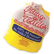 Fieldale Farms Small Whole Chicken Fryer, USDA Grade A