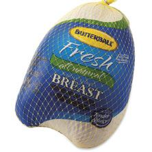 Butterball Fresh Whole Turkey Breast, USDA Inspected, Grade A