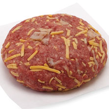 Aprons Gourmet Burger, Bacon and Cheddar, Prepared Fresh In-Store