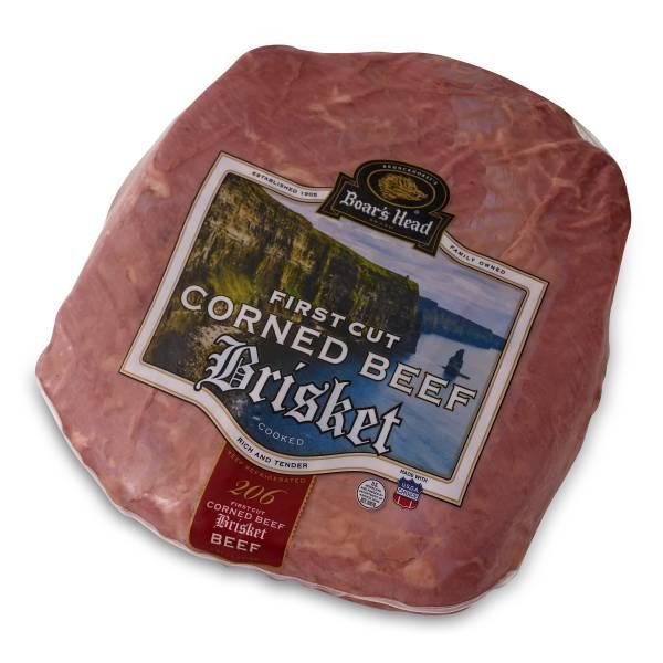 Boar's Head 1st Cut Corned Beef Brisket