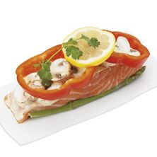 Aprons Salmon Asparagus Dijonnaise, Prepared in Store, Ready to Cook