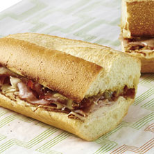 Chicken Cordon Bleu Sub Hot