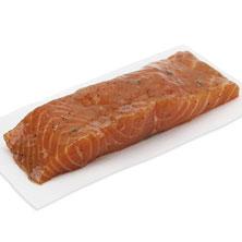 Salmon Select Cuts, Bourbon-Marinated Fresh