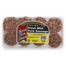 Sunset Farm Sausage Patty, Pork