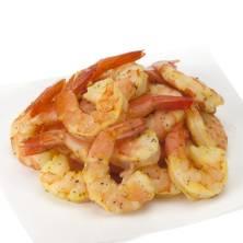 Cooked Shrimp, Medium, Lemon & Herb, 41/50 Shrimp/Lb, Prepared in Store Ready to Eat