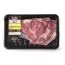 Meal Mart Bone in Rib Steak, Kosher Beef