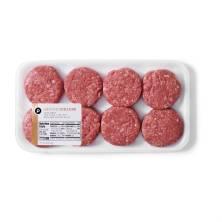 Ground Sirloin Slider Burgers Publix Beef, USDA Inspected
