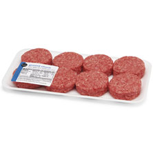 Ground Chuck Slider Burgers Publix Beef, USDA Inspected