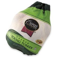 Empire Whole Fresh Turkey 16-20 Pounds, Kosher Poultry