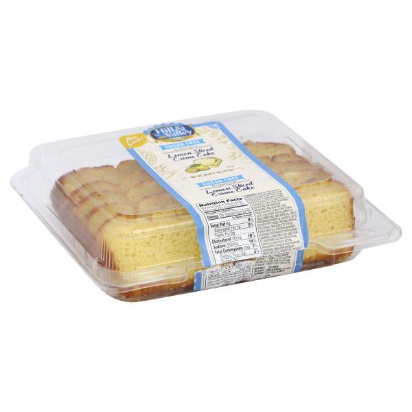 Hill Amp Valley Creme Cake Sugar Free Lemon Sliced