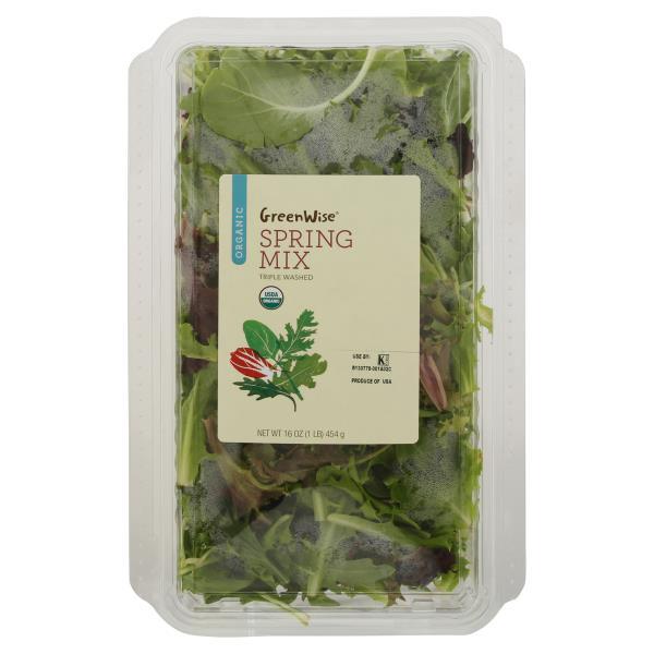 GreenWise Organic Spring Mix, Organic