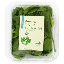 GreenWise Organic Baby Spinach, Organic