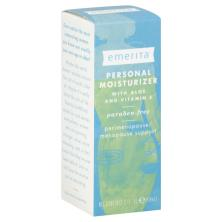 Emerita Personal Moisturizer, with Aloe and Vitamin E