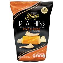 Stacys Pita Crisps, 5 Cheese