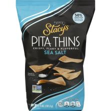 Stacys Pita Thins, Baked, Sea Salt