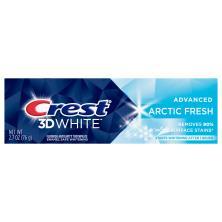 Crest 3D White Toothpaste, Fluoride Anticavity, Arctic Fresh