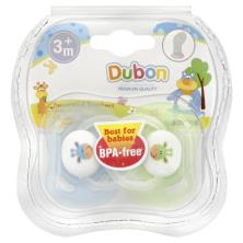 Dubon Soothers, Decorated, Orthodontic, 3+ Months