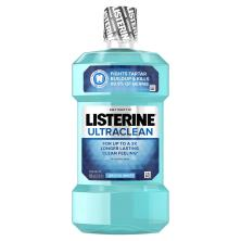 Listerine Ultraclean Antiseptic, Arctic Mint