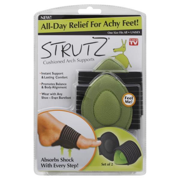Strutz Cushioned Arch Supports, Unisex