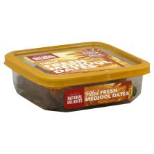 Natural Delights Bard Valley Dates, Pitted, Fresh Medjool