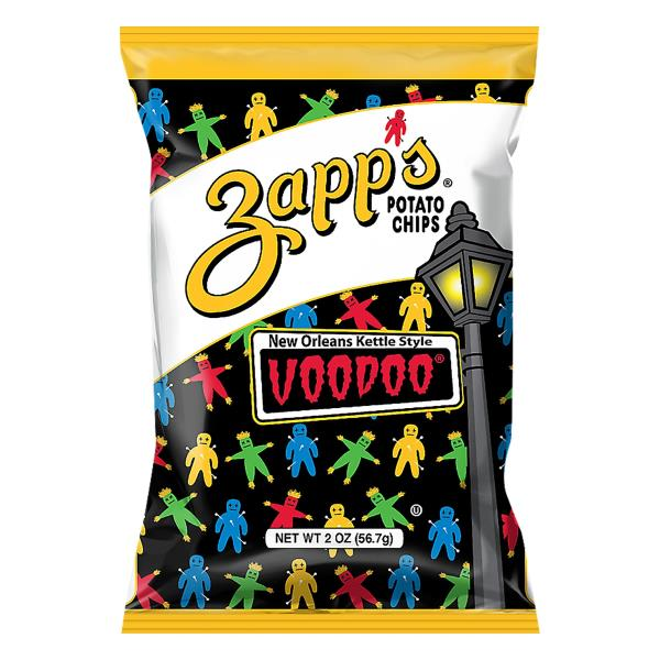 Zapps Voodoo Potato Chips, New Orleans Kettle Style
