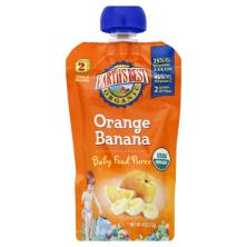 Earths Best Organic Baby Food Puree, Orange Banana, 2 (Over 6 Months)
