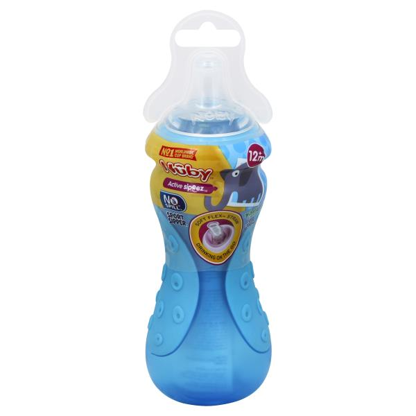 Nuby Sippy Cup, Sport Sipper, 10 Ounces, Step 3 (9+ Months)