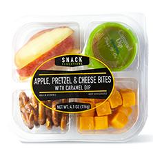 Snack Sensations Apple, Cheese, and Pretzel Bites