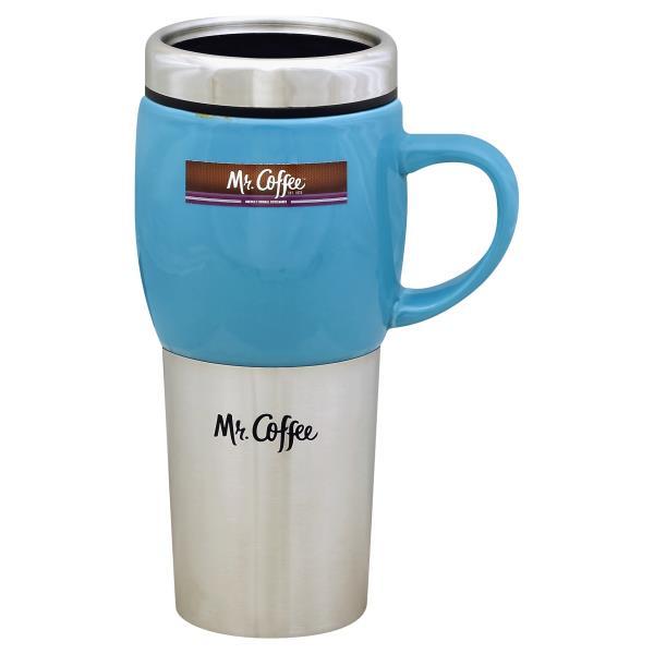 mr coffee travel mug ceramic traverse 16 ounce publix com