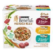 Beneful Prepared Meals Dog Food, Variety Pack
