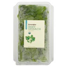 GreenWise Organic Spinach, Organic