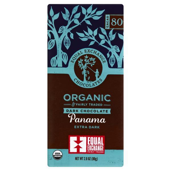 Equal Exchange Chocolates Dark Chocolate Organic Panama