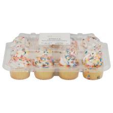 Mini Vanilla Cupcakes 12-Count