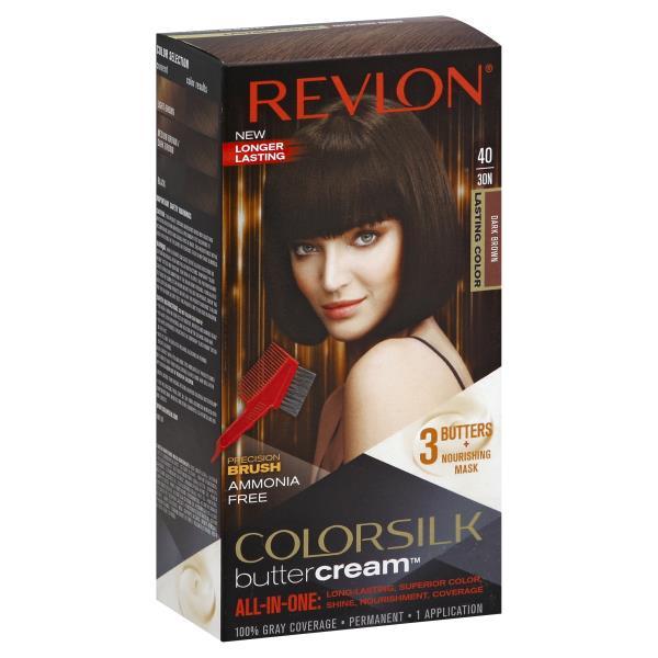 Colorsilk Butter Cream Permanent Hair Color Dark Brown 4030n