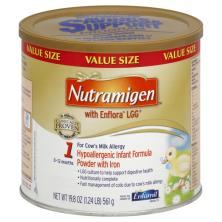 Nutramigen Infant Formula, with Iron, Hypoallergenic, Powder, 1 (0-12 Months), Value Size