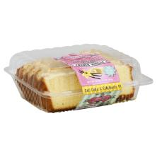 Mrs Wonderfuls Cakes Loaf Cake, French Vanilla, Sliced