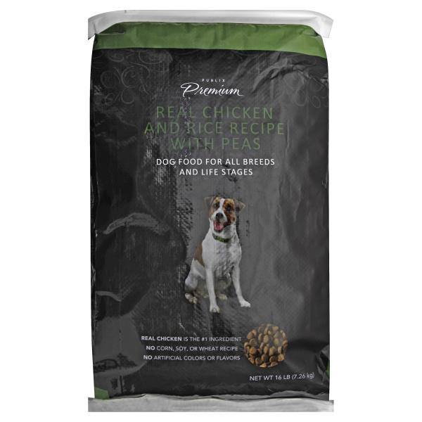 Publix premium dog food real chicken and rice recipe with peas publix premium dog food real chicken and rice recipe with peas forumfinder Image collections