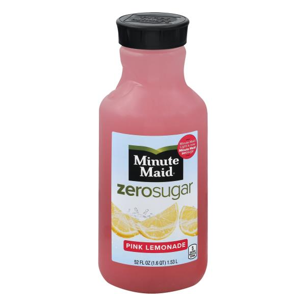 Minute Maid Light Lemonade, Pink Awesome Design