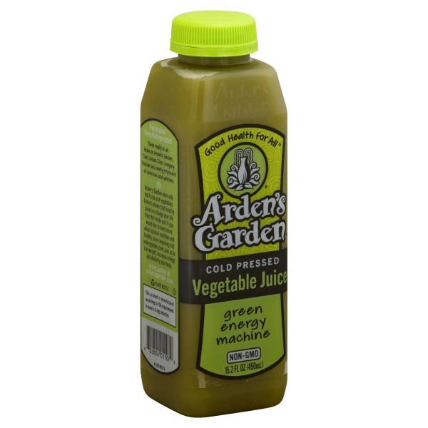Ardens Garden Vegetable Juice, Cold Pressed, Green Energy Machine ...