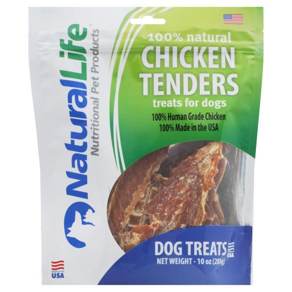 Natural Life Dog Treats, Chicken Tenders