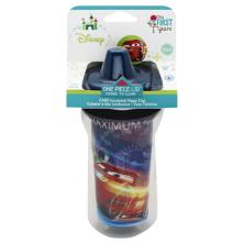 The First Years Sippy Cup, Insulated, Cars, 9 Ounce, 9M+