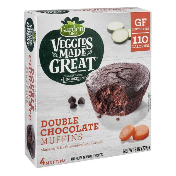 Garden Lites Muffins, Chocolate, Individually Wrapped