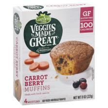 Garden Lites Muffins, Carrot Berry, Individually Wrapped