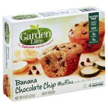 Garden Lites Muffins, Banana Chocolate Chip