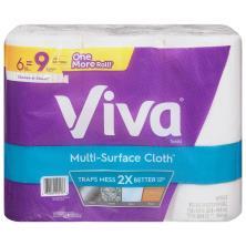 Viva Vantage Paper Towels, Choose-A-Sheet, Big Rolls, 1-Ply
