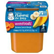 Gerber 2nd Foods Banana Carrot Mango