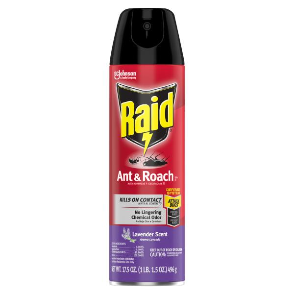 Raid Ant & Roach Killer 26, Lavender Scent