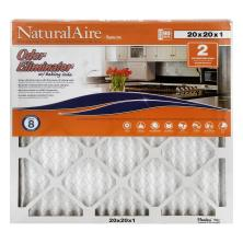 NaturalAire Air Cleaning Filter, Odor Eliminator w/Baking Soda, 20 x 20 x 1